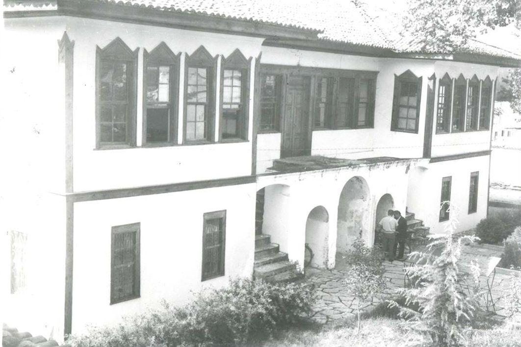 Një nga ndërtesat e para që ka shërbyer si godinë e BKSH-së
