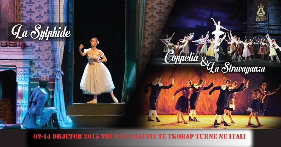 Media italiane vlerëson baletin shqiptar: Shkollë superiore