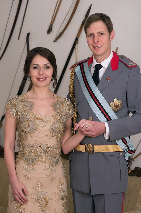 Tirana: Photo shooting of Prince Leka II of the Albanians and his fiancee Elia Zaharia