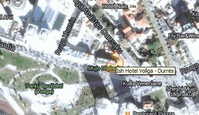 "Vendndodhja e ish-hotel ""Vollga"""