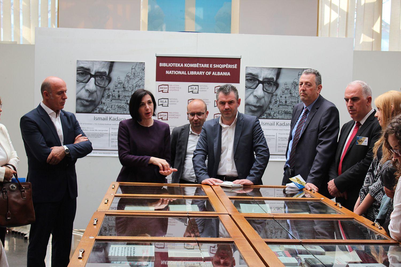GJate prezantimit te ekspozites ne Prishtine