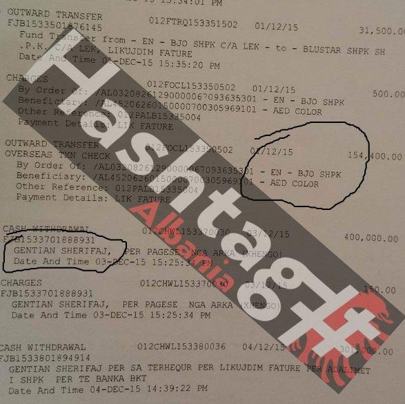Genrian-Sherifaj-dokumentet-e-transfertave-shlyerje-fature-si-nenkontraktor-i-TIS-Park-shpk