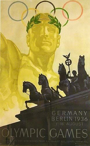 Pllakati i Olimpiadës së Berlinit 1936