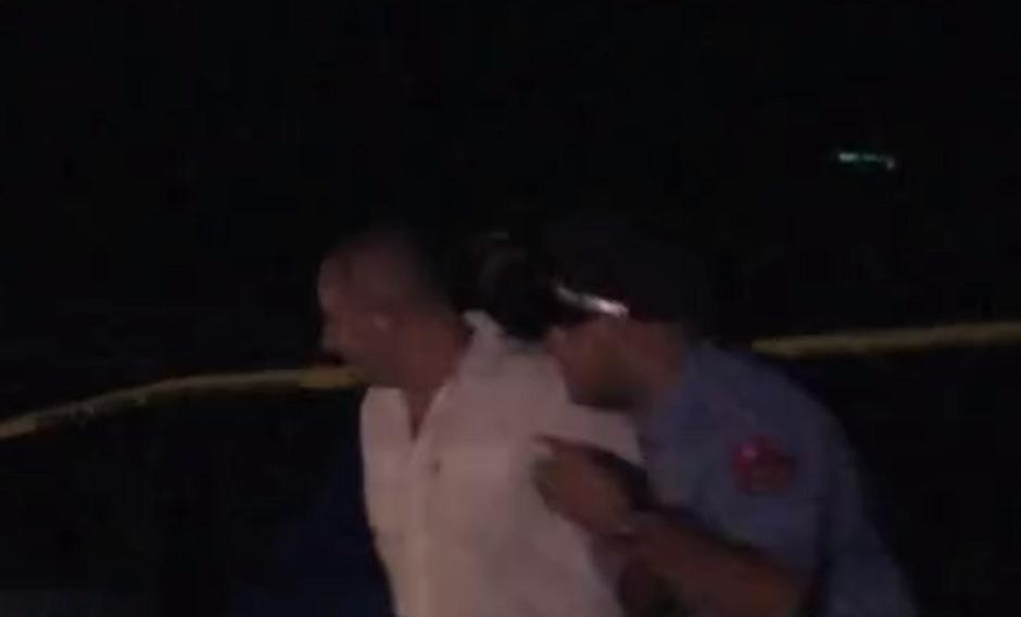 Martin Zefi gjate arrestimit