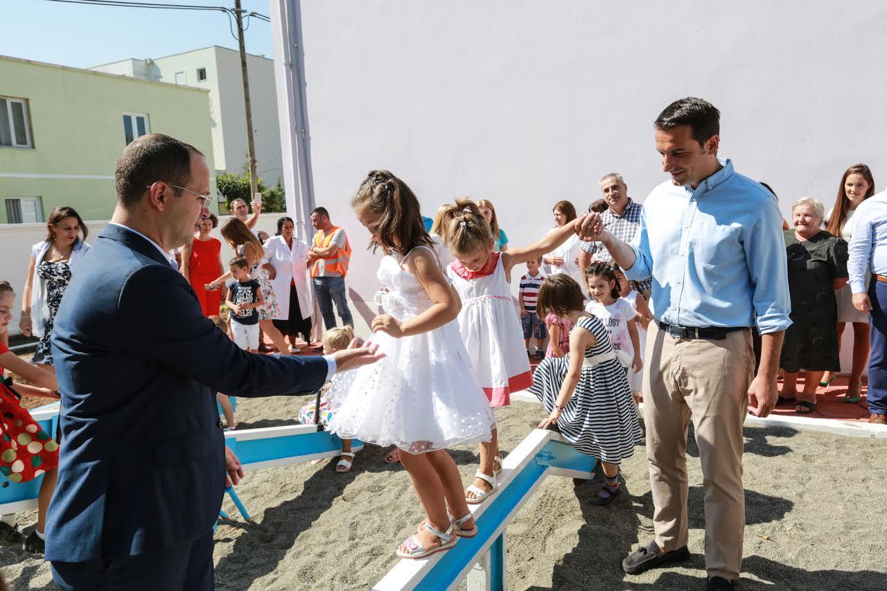 Inaugurohet Beni ecën vetë, Veliaj: Investimi për fëmijët, garancia e të nesërmes