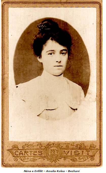 Nëna e Erifilit, Amalia Kolea Bezhani