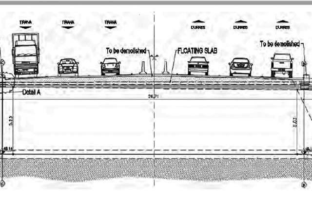 Projekti i zgjerimit të autostradës me tre korsi