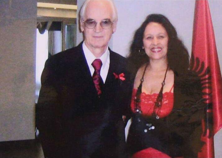 Teodor Laço me bashkëshorten Mirjana