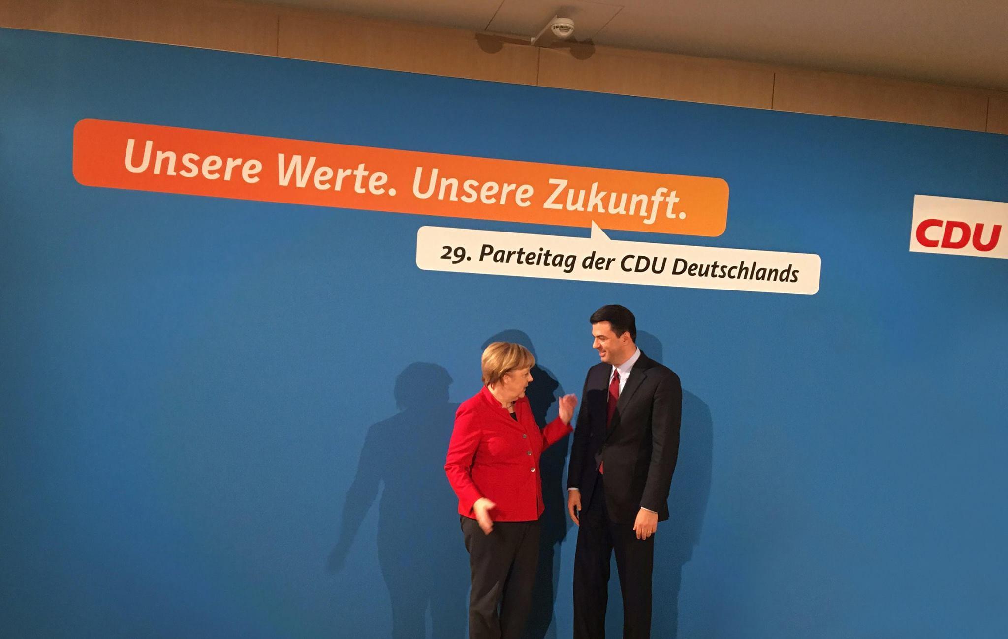 Angela Merkel, Lulzim Basha