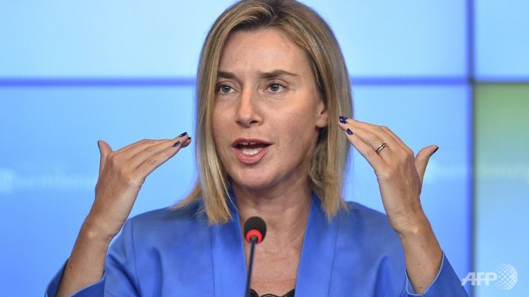 mogherini-speaks