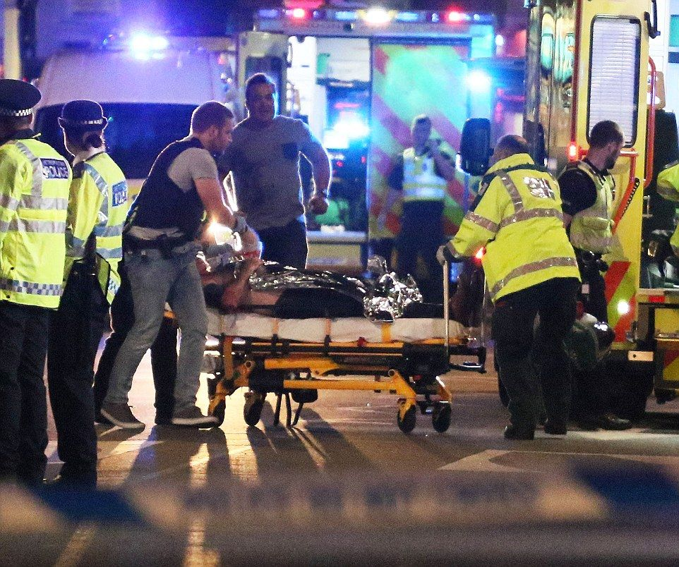 LONDON BRIDGE TERROR ATTACK. SATURDAY 3RD JUNE 2017 - MAGICMOMENTSUK - 07753 30 30 77