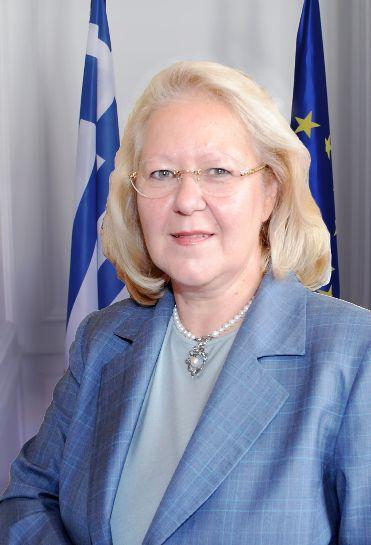 Ambasadorja e Greqisë, Eleni Sourani