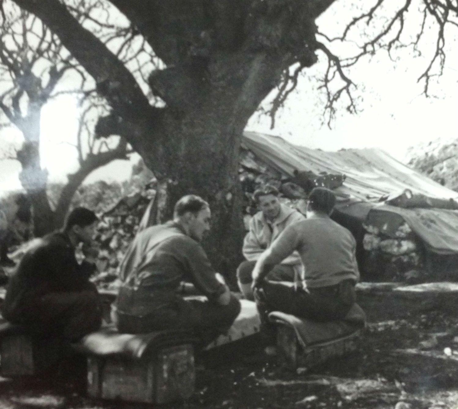 Shtabi i oficereve britanik ne Dukat te Vlores 1944