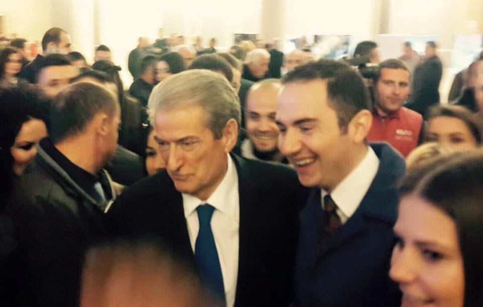 Sali Berisha dhe Ervin Salianji