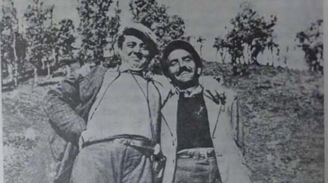 Enveri dhe Dushan Mugosha