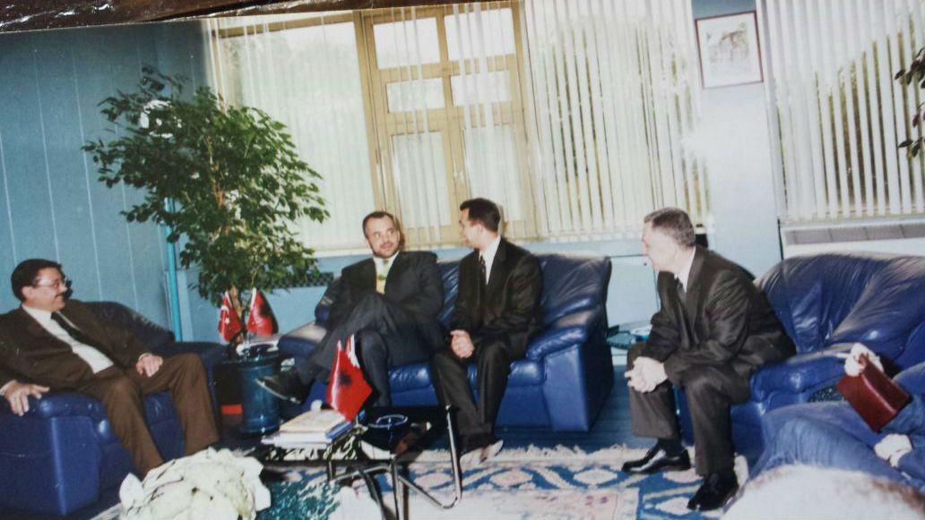Nga vizita e ish-kryebashkiakut të Tiranës, Edi Rama në Ankara