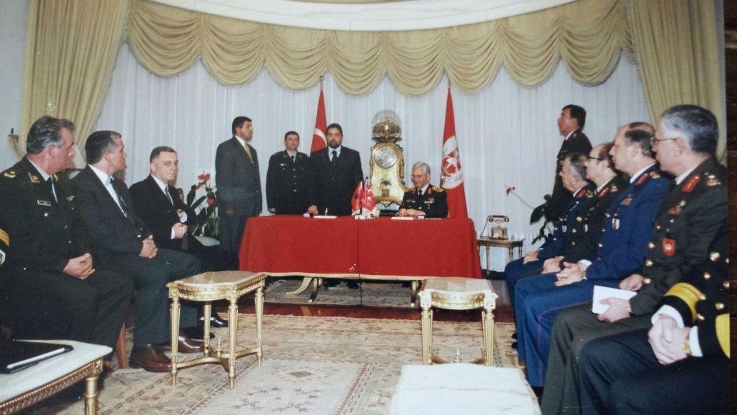 Nga vizita e ish- Ministrit te Mbrojtes, Ilir Gjoni ne Turqi