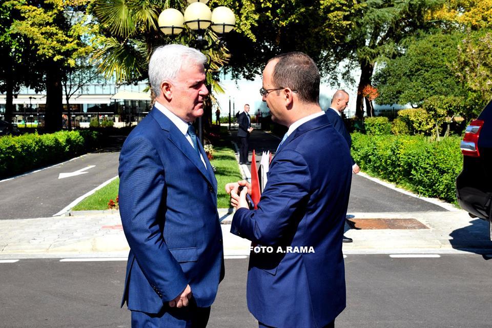 Fatmir Xhafaj Ditmir Bushati