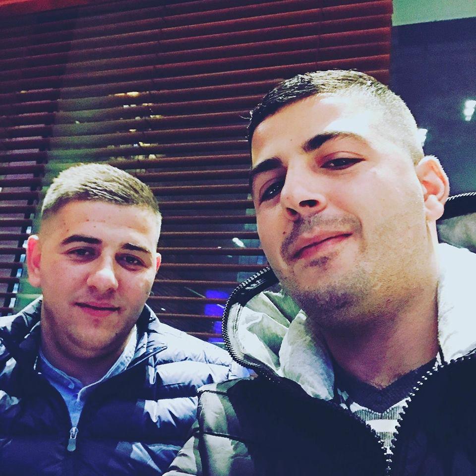 Xhulio Shkurti dhe Zamir Latifi