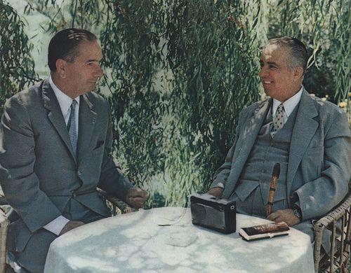 Enver Hoxha dhe Hysni Kapo