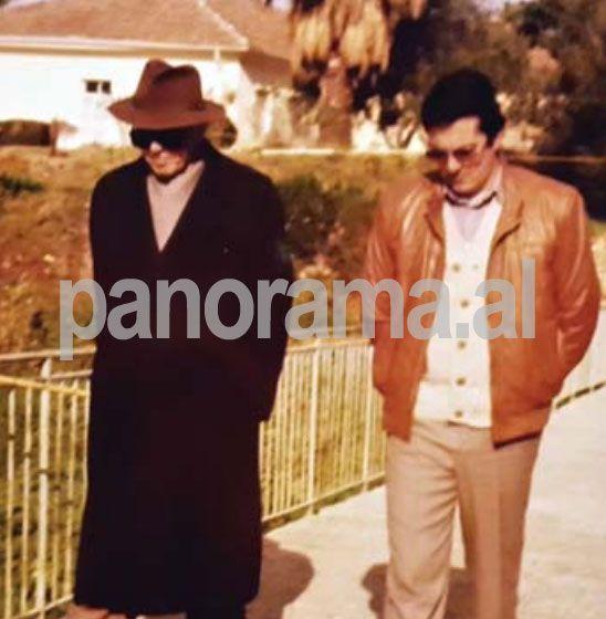 Enver Hoxha dhe Sokoli/ Foto ekskluzive nga arkivi i tij personal