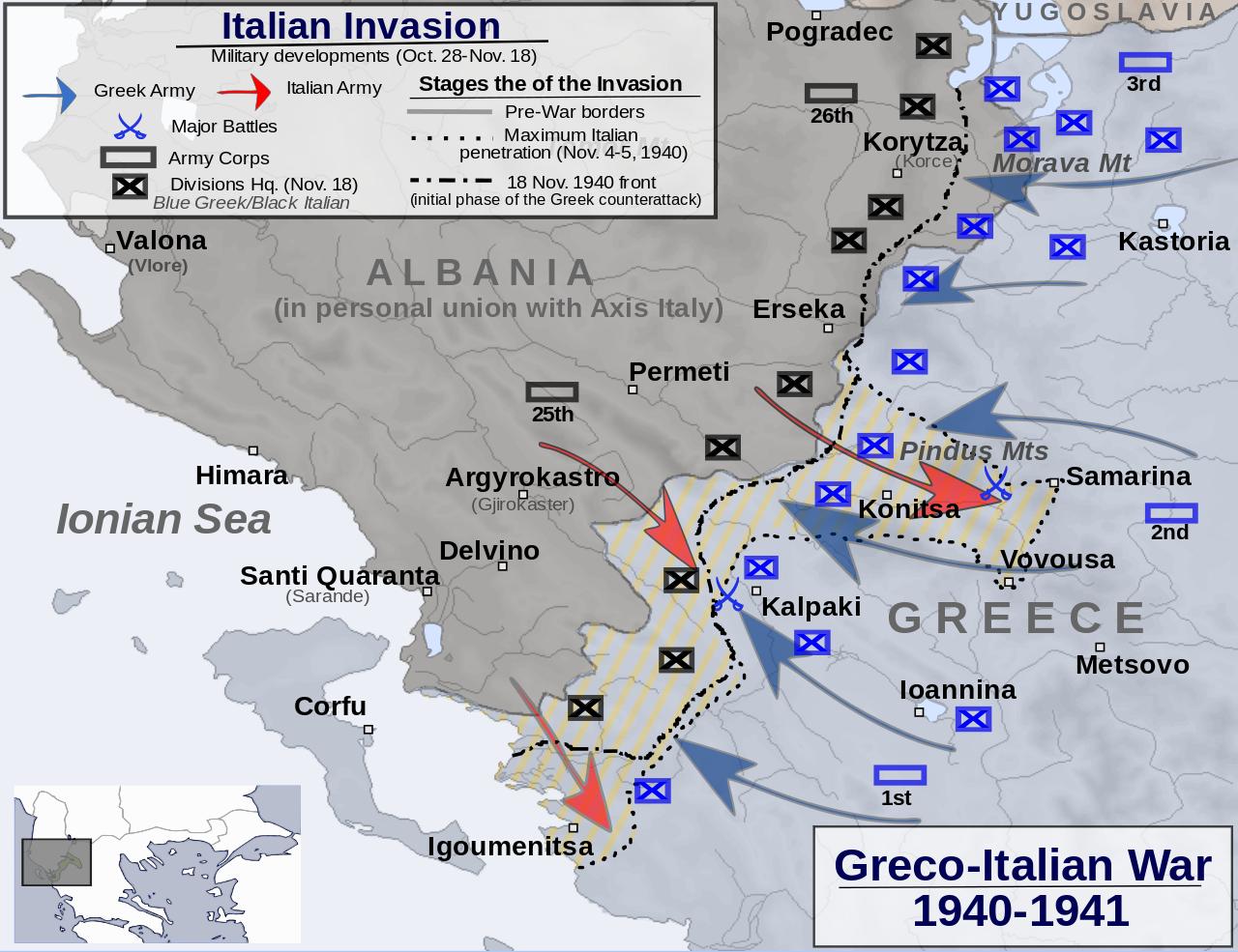harta e sulmeve