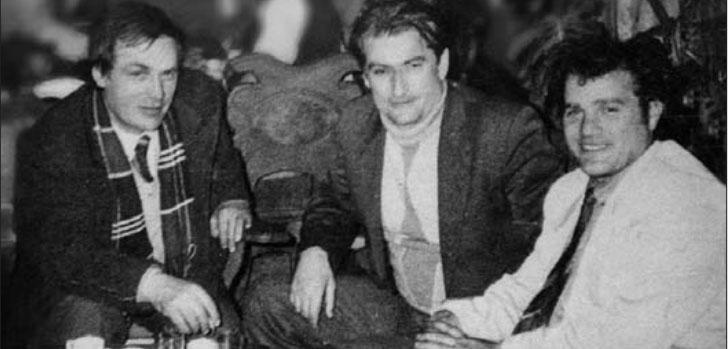 Rasim Hasanaj, Sali Berisha e Azem Hajdari në aktivin e parë të PD, 15 shkurt 1991