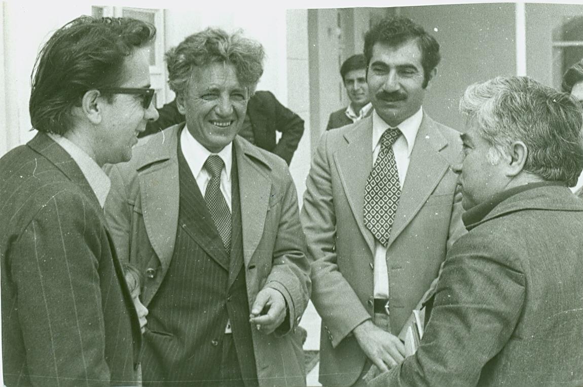 Ismail Kadare dhe Dritëro Agolli