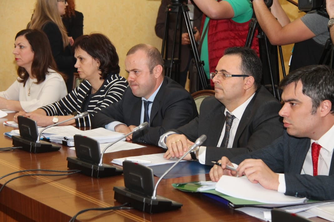 Vorsitzender der FSA, Ervin Koci, gestern bei der Wirtschaftskommission