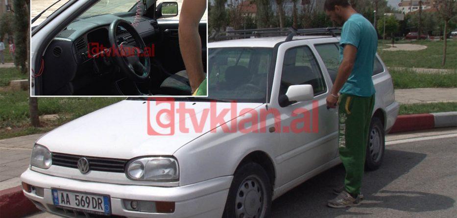 Makina e te arrestuarit si i dyshuar per ngjarjen