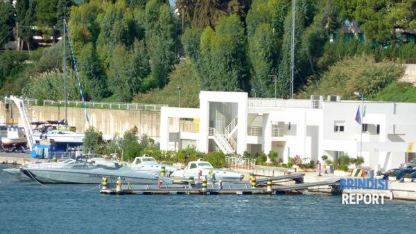 La base della Sezione operativa navale della Guardia di Finanza