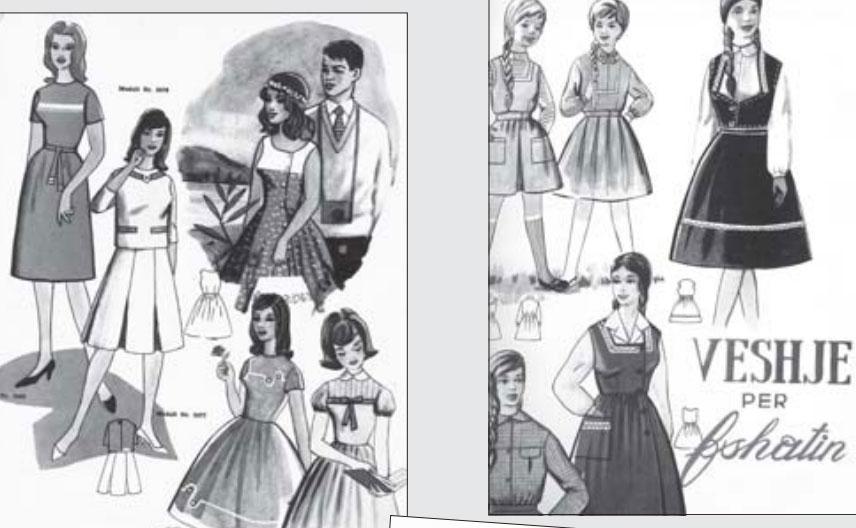 """Modelet që reklamoheshin nga revistat """"Ylli"""" e """"Shqiptarja e Re"""""""