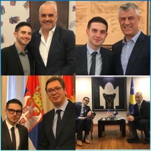 Djali Sorosit me lideret e Ballkanit