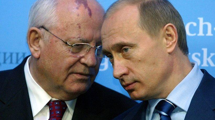 Gorbacov-Putin