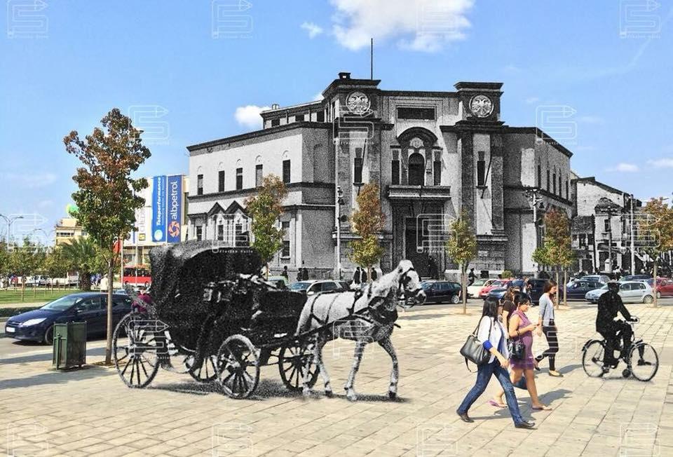 Ura Tabakve dhe qendra Tiranës si ka qenë.9898