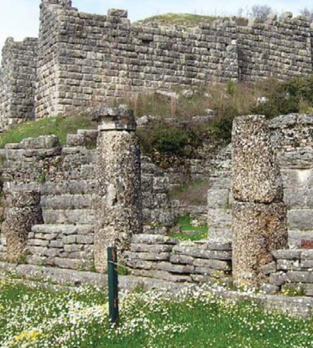 Tempulli i Dodonës së lashtë pellazgjike në Epir