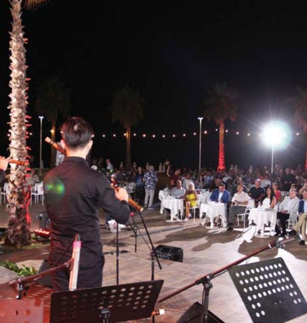 """Gjatë koncertit të orkestrës kineze, në """"Prestige Resort"""""""