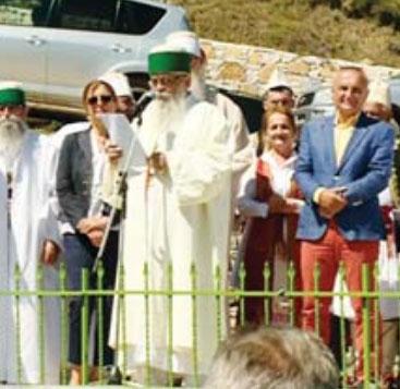 Përshëndetja e Kryegjyshit Botëror Dede Edmond Brahimaj, drejtpërdrejt në RTSH