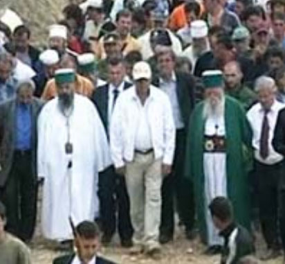 Presidenti Moisiu në Tomorr