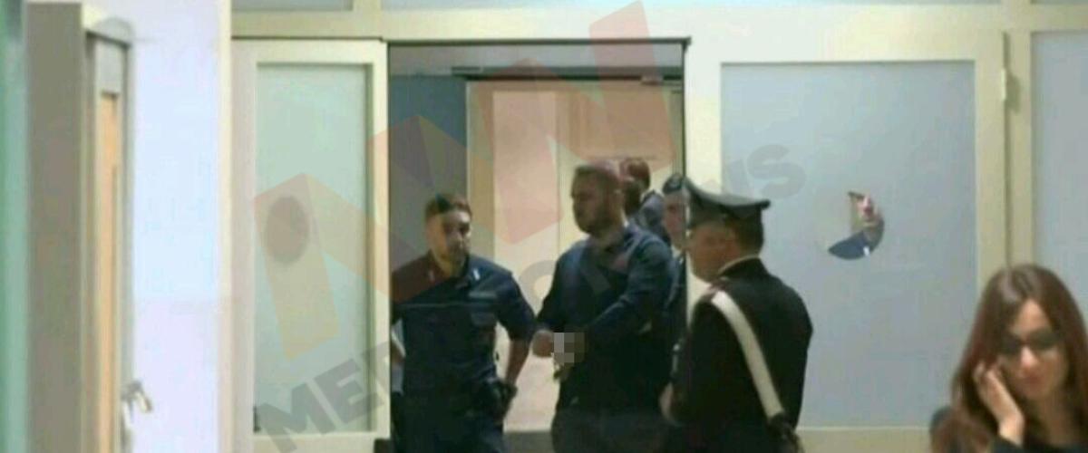 Moisi Habilaj në seancën e funit gjyqsore në Gjykatën e Katanias
