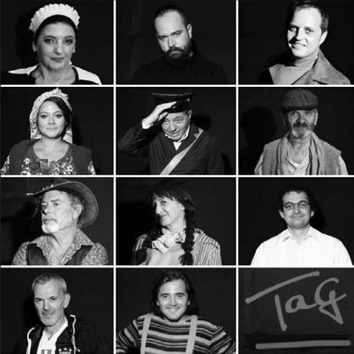 """Aktorët që interpretojnë në komedinë """"Tag"""""""