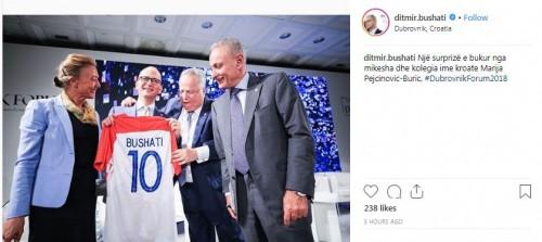 Bushati me ministren kroate