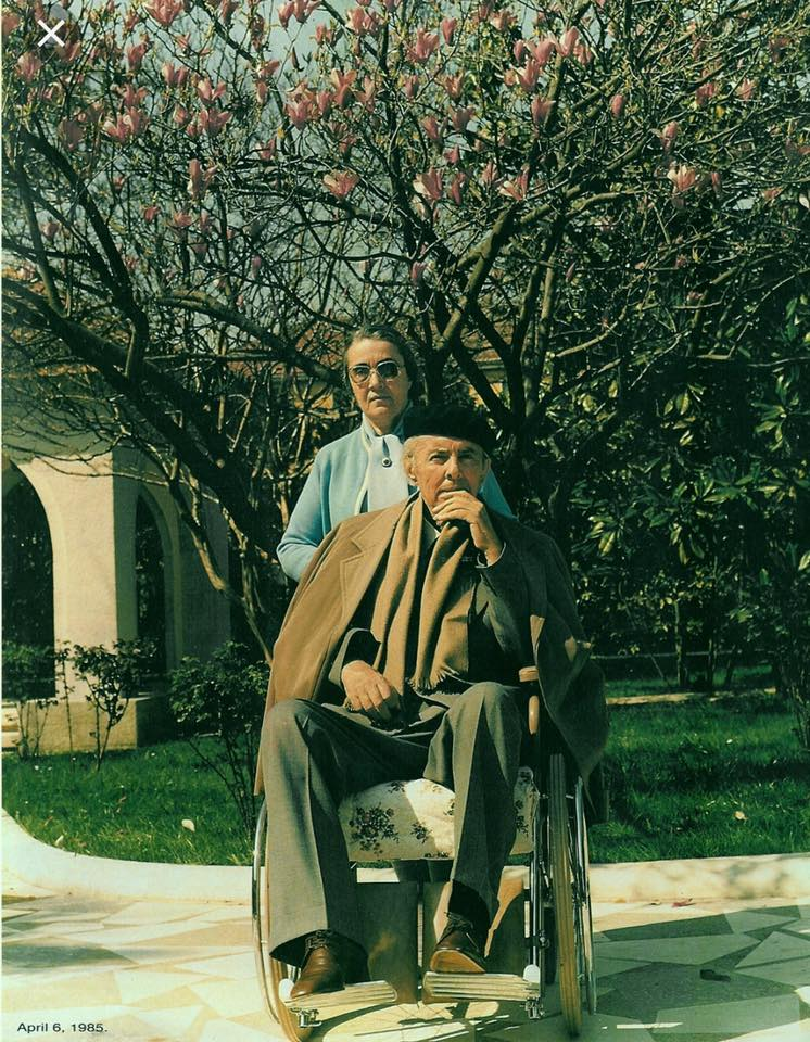 Enver Hoxha dhe Nexhmija