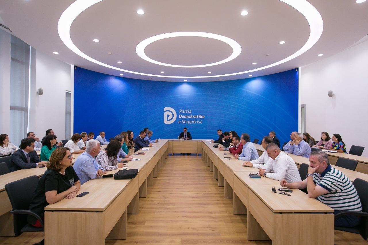 Mbledhja e grupit te PD 3 shtator 2018
