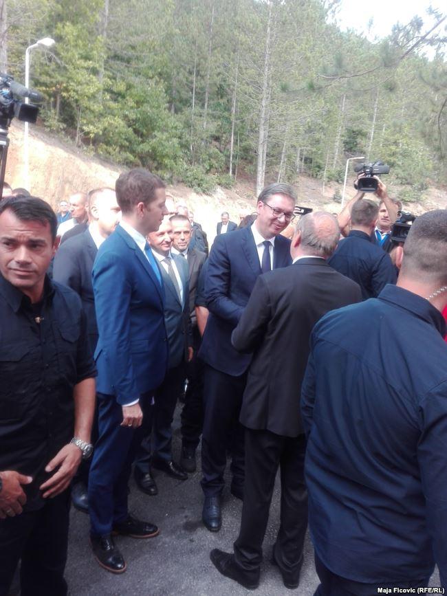 Presidenti i Serbisë, Aleksandar Vuçiq te Qendra për Ekologjike sportive në Zubin Potok