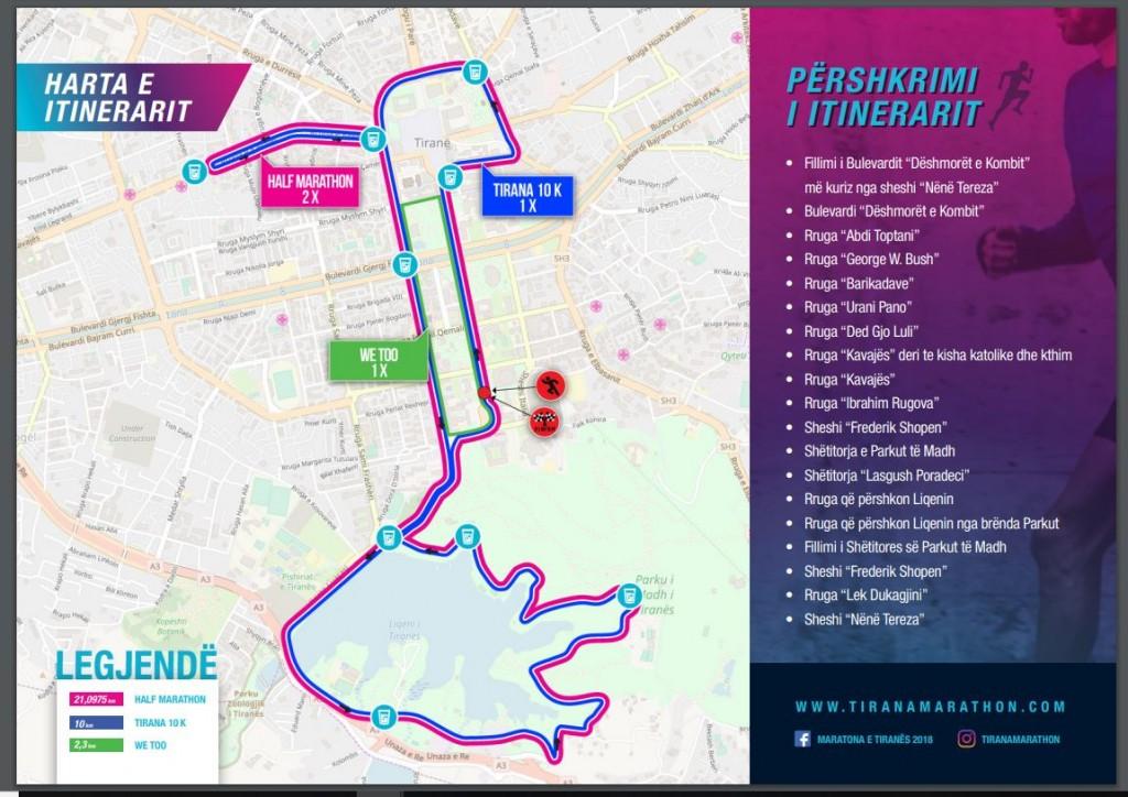 harta e maratones