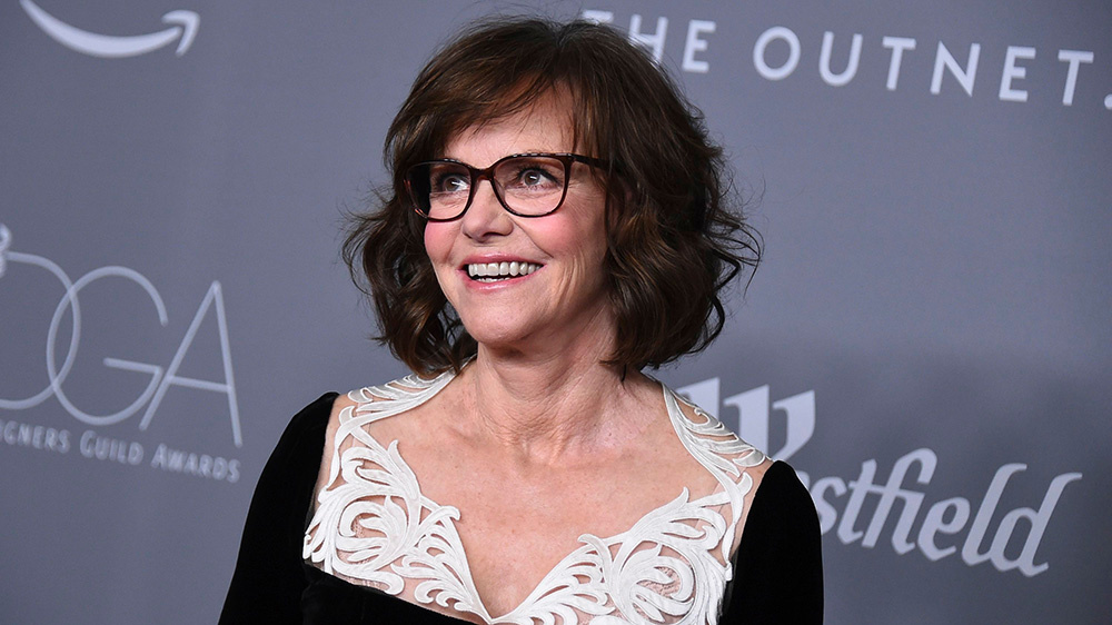 Mandatory Credit: Photo by Jordan Strauss/Invision/AP/REX/Shutterstock (9428296bo) Sally Field arrives at the 20th annual Costume Designers Guild Awards at The Beverly Hilton hotel, in Beverly Hills, Calif 20th Annual Costume Designers Guild Awards - Arrivals, Beverly Hills, USA - 20 Feb 2018