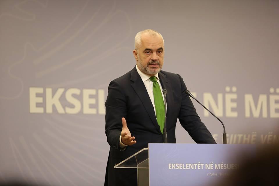 Edi Rama, Kryeminister