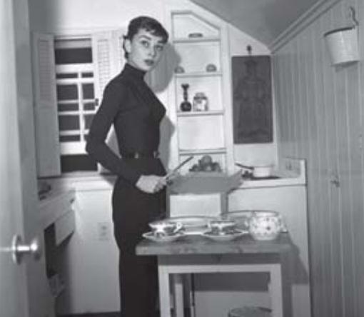 Muffins si të Audrey Hepburn
