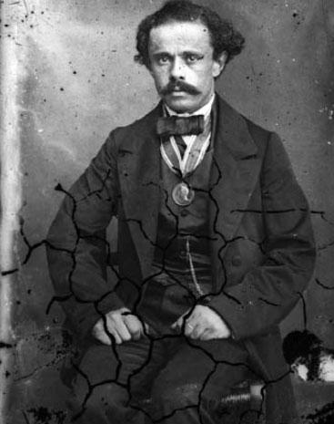 Pjeter Marubi, autoportret